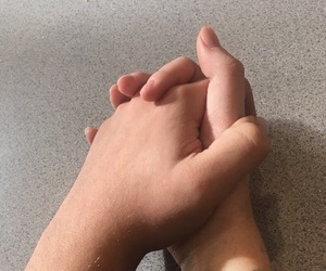 holding hands and Relationship image
