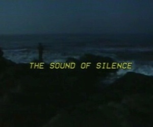 silence, grunge, and sound image