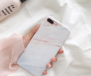 fashion, iphone, and marble image