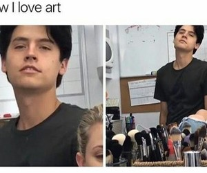 art, babe, and black image