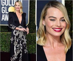 golden globe awards, gucci, and margot robbie image