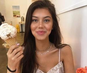 sahar luna, girl, and ice cream image