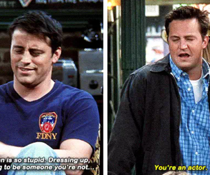 90s, actor, and chandler bing image