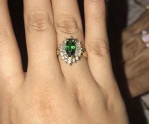 beautiful, beauty, and emerald image