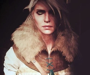 ciri, the witcher, and cirilla image