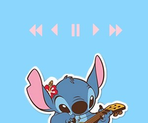stitch, guitar, and disney image