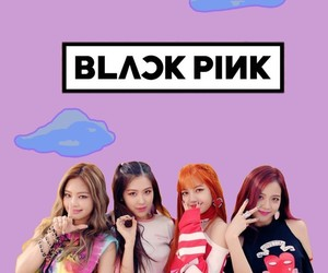 kpop, wallpaper, and black pink image