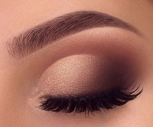 makeup, cosmetics, and eyes image