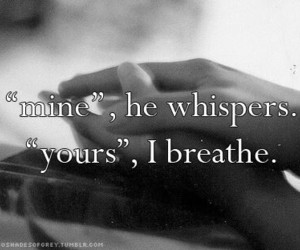 christian grey, quotes, and mine image