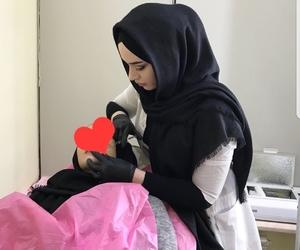 black, doctor, and hijab image