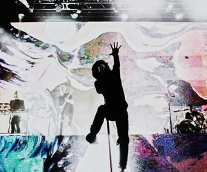 bmth, oliver, and bring me the horizont image