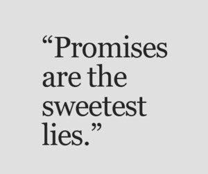 lies, promise, and quotes image