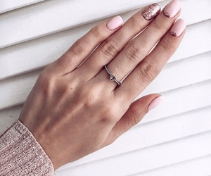 pink, beauty, and nails image