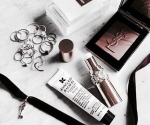 makeup, beauty, and YSL image