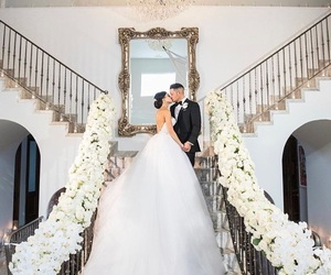 beautiful, couple, and décoration image
