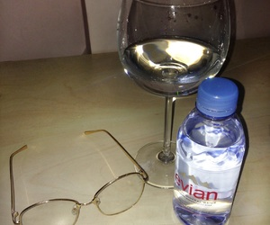 drink, spectacles, and water image