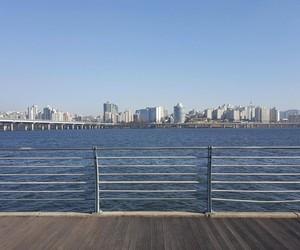 breezy, korea, and river image