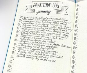 grateful, january, and journal image