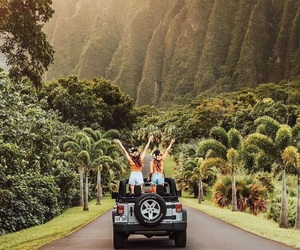 best friends and travel image