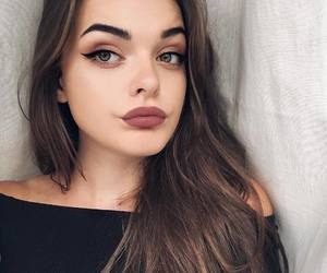 girls, style, and makeup image