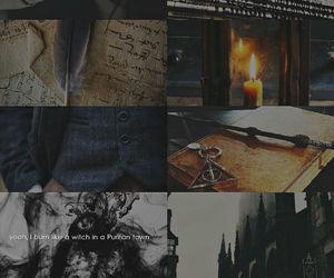 grindelwald, deathy hallows, and gellert grindelwald image