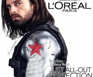 Marvel, james barnes, and winter solder image