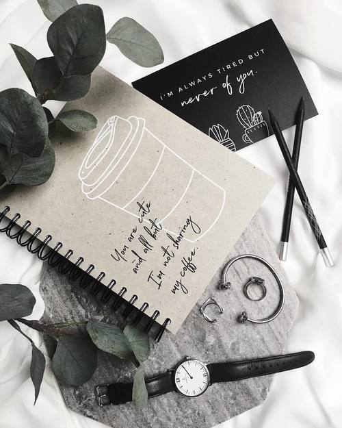 article and notebook image