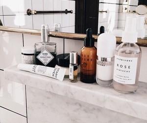 bathroom, beauty, and makeup image