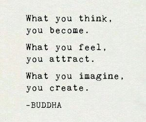 quotes, Buddha, and think image