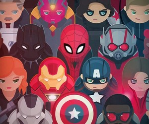 Marvel, Avengers, and iron man image