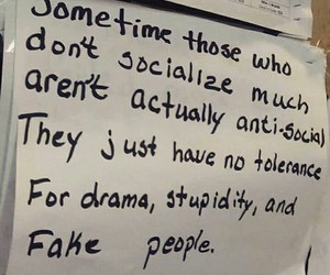 people, drama, and quotes image