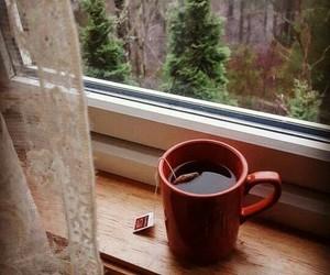 tea and window image
