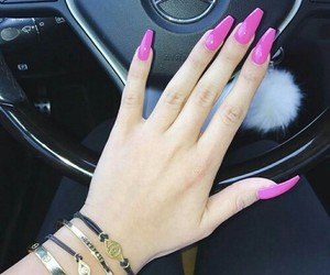 nails, accessories, and car image