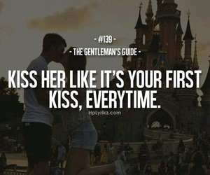 quotes and kiss image