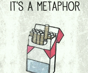 cigarettes, metaphor, and wallpapers image