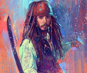 art and jack sparrow image