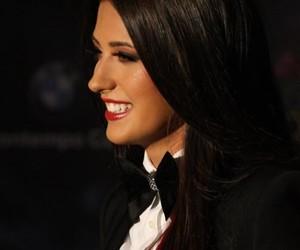 lipstick, romanian, and smile image
