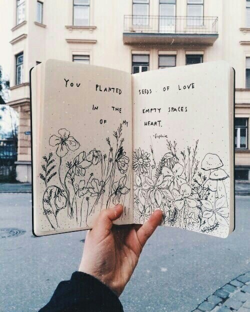 Art Art Notebook Ideas Flowers Quotes Street Photo Painting Discovered By Blablablabla