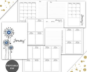 calendar, etsy, and planner image