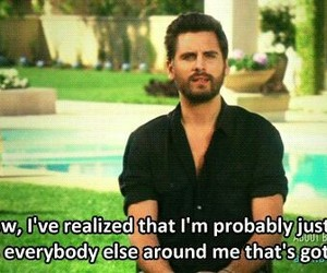 funny, scott disick, and keeping up with the kardashians image