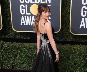 black dress, dress, and fifty shades of grey image
