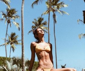 abs, bikini, and goals image