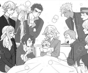 mobile suit gundam and iron blooded orphans image