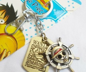anime, key chain, and one piece image