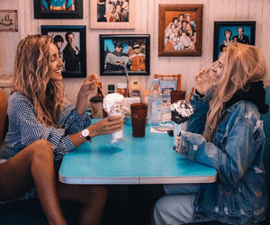 friends, best friends, and food image