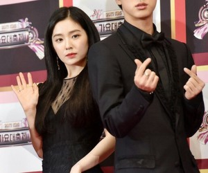 bts, irene, and jin image