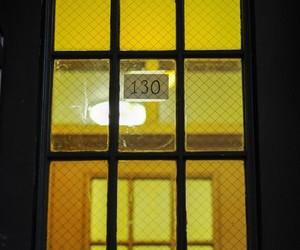 door, light, and numbers image