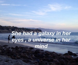 quotes, galaxy, and mind image