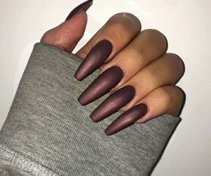 nails, acrylic, and claws image