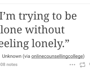 alone, empty, and lonely image